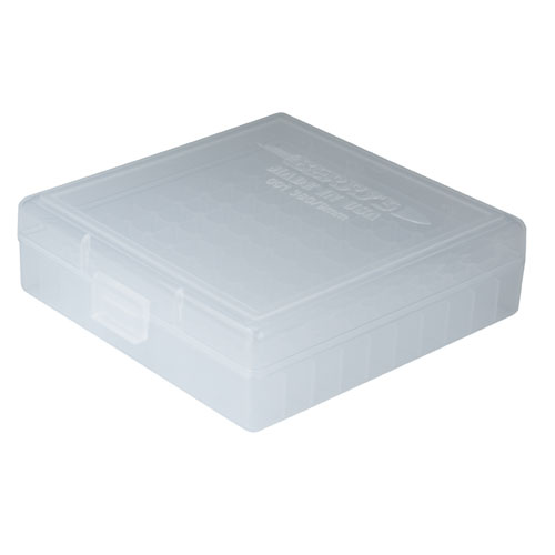 Berry's #001 - 380 / 9mm Ammo Box 100 Round (Clear) - Precision
