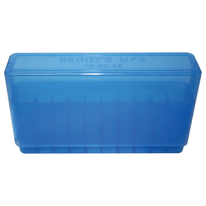 Berry's #110 - 270 / 30-06 Ammo Box 20 Round (Blue