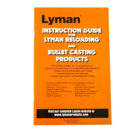 Lyman Reloading And Cast Bullet User Guide Precision Reloading