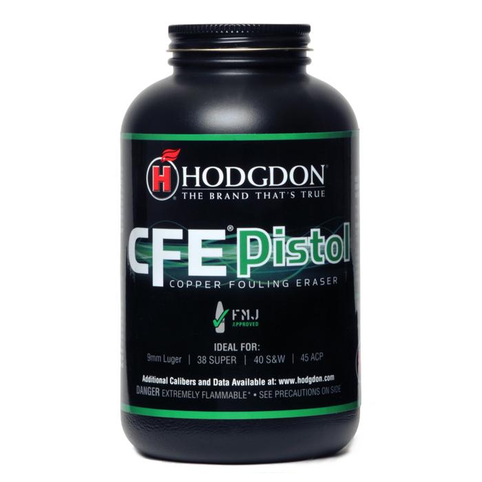 Hodgdon CFE Pistol Smokeless Powder (1 lb ) - Precision